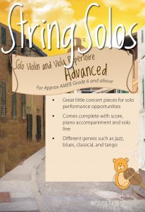 Advanced Solo Repertoire